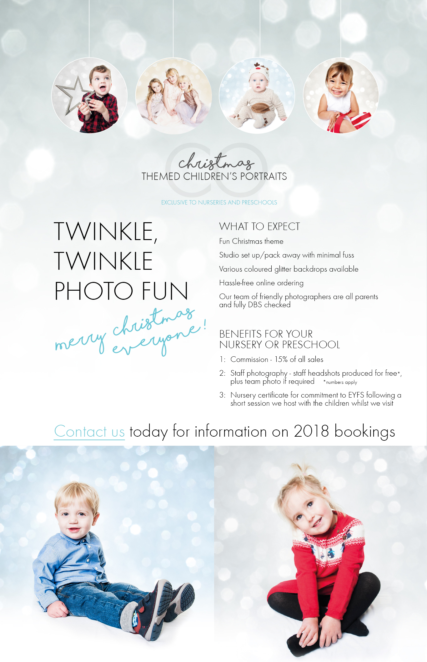 Twinkle Twinkle Photoshoots for Nurseries and Preschools