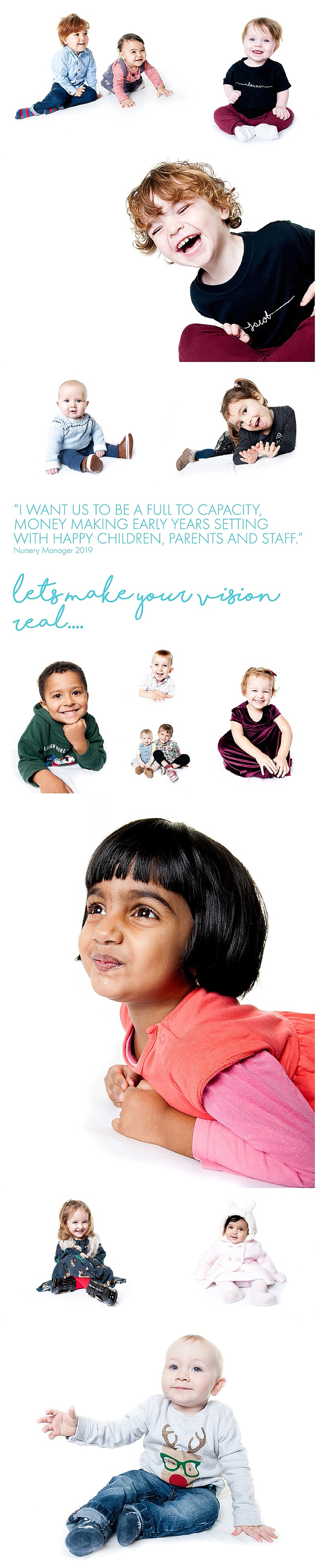 Early Years Photoshoots for Nurseries and Preschools